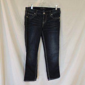 Silver Jeans capris Frances womens size 30